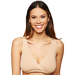 Motherhood Maternity® X-Large Wrap Nursing Sleep Bra in Nude