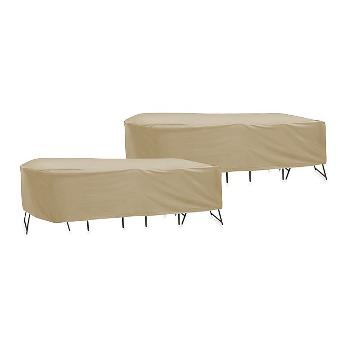 Protective Covers Oval Rectangle Table And Chair Cover
