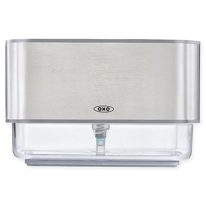 Alternate image 1 for OXO Good Grips® Soap Dispensing Sponge Holder