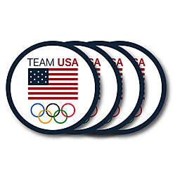 Olympics Team USA 4-Piece Coasters Set