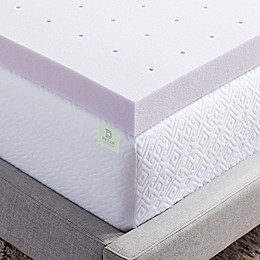 Dream Collection™ by LUCID® 3-Inch Lavender Infused Foam Mattress Topper