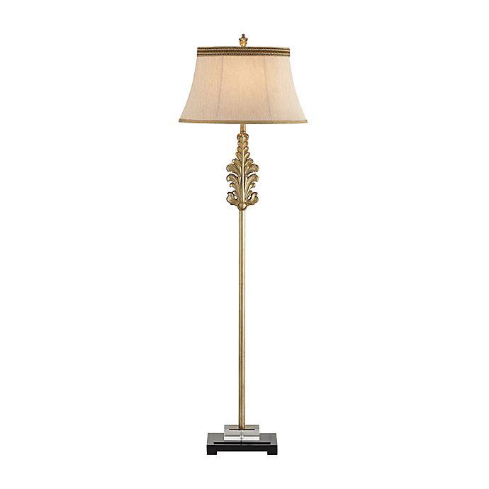 Pacific Coast Lighting Fleur De Lis Floor Lamp In Antique