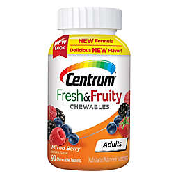 Centrum® 90-Count Adults Fresh & Fruity Chewables Multivitamin in Mixed Berry