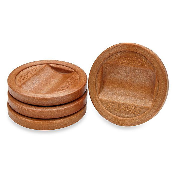 Alternate image 1 for Slipstick® 4-Pack Large Castor Cups