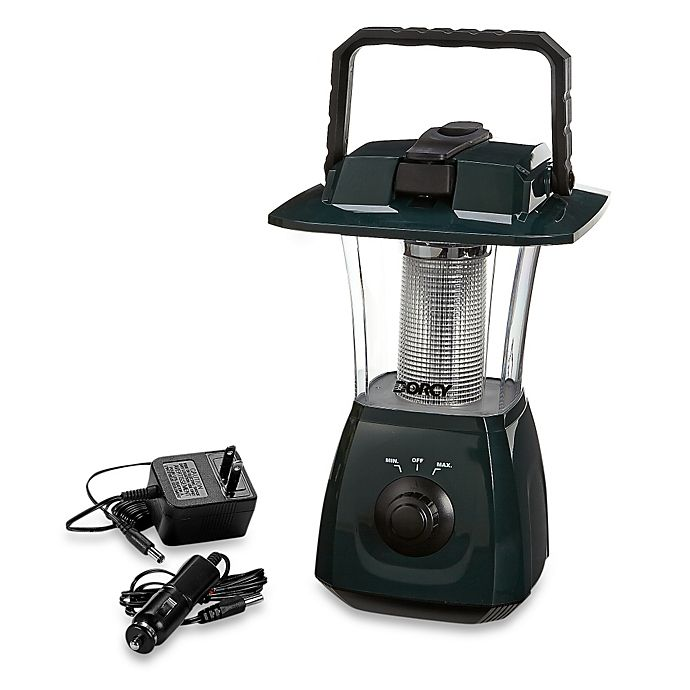Alternate image 1 for Dorcy 6-LED Rechargeable Dynamo Lantern with Self-Charging Hand Crank