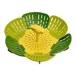 Joseph Joseph® Bloom™ Folding Steamer Basket in Green