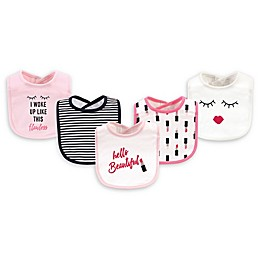 Little Treasure 5-Pack Drooler Bibs