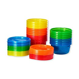The First Years® 20-Pack Solids Bowls Toddler Bowls in Rainbow