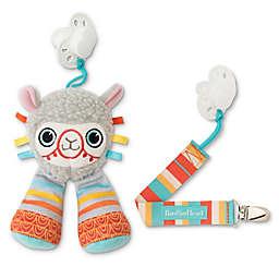 BooginHead® Llama 2-Piece PaciPal & PaciGrip Set in Grey