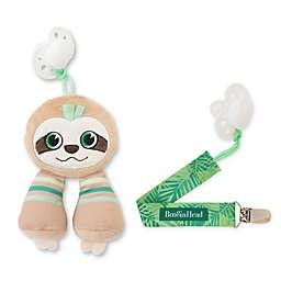BooginHead® Sloth 2-Piece PaciPal & PaciGrip Set in Tan