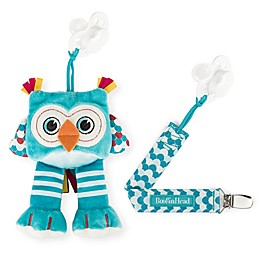 Booginhead® Plush PaciPal Owl with PaciGrip Pacifier Clip in Teal