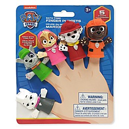 Nickelodeon™ 5-Piece Paw Patrol Bath Finger Puppets
