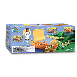 BibleToys 15-Piece Galilean Boat, Jesus, and the Apostles Play Set