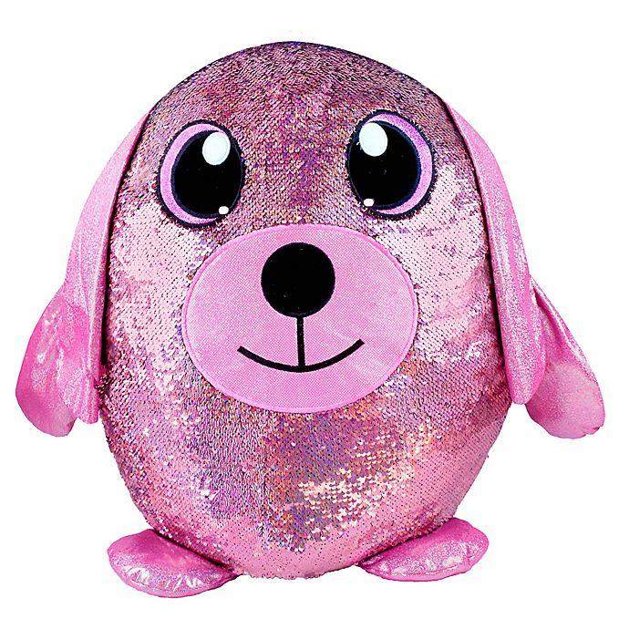 Alternate image 1 for Shimmeez Lulu Reversible Sequins Plush Toy
