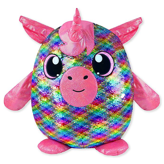 Alternate image 1 for Shimmeez Gracie Reversible Sequins Plush Toy