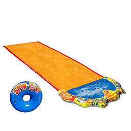 Banzai Spin Out Water Slide with Inflatable Ride Tube