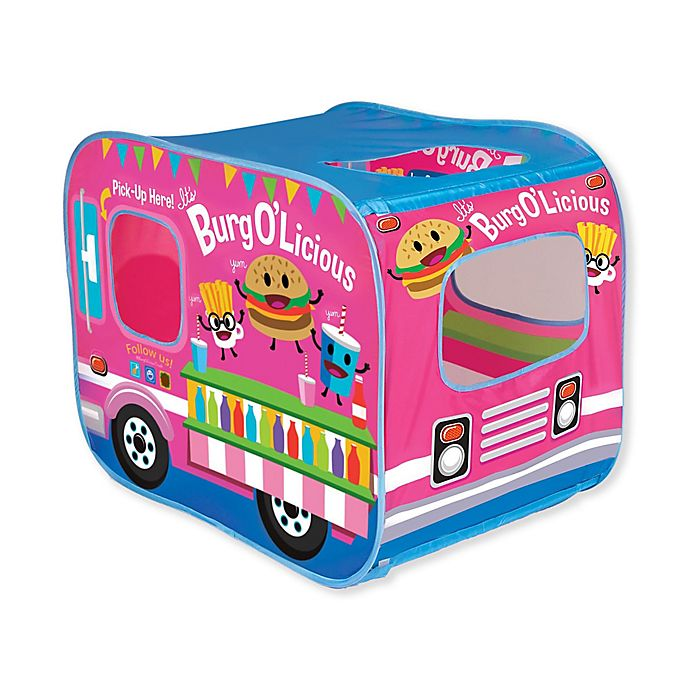 Alternate image 1 for Banzai My Little Food Truck Play Tent