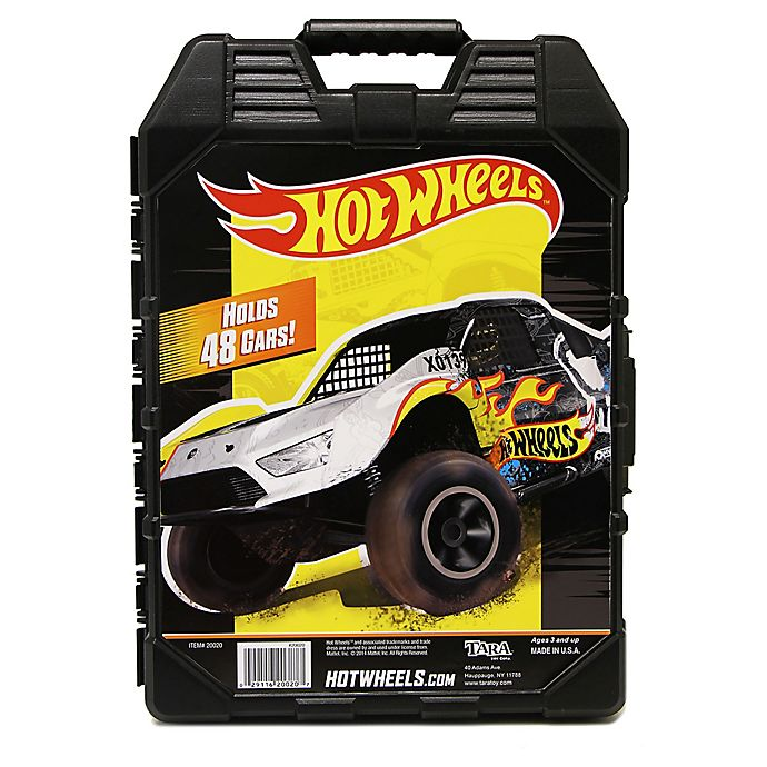 Alternate image 1 for Hot Wheels® 48-Car Storage Case