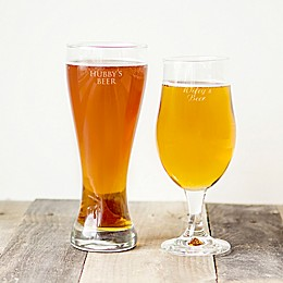 Cathy's Concepts 2-Piece His and Her Pilsner Glass Set