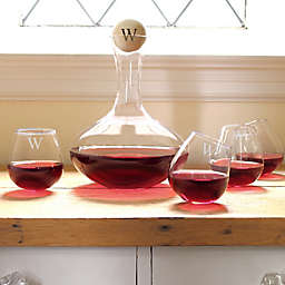 Cathy's Concepts 5-Piece Tipsy Wine Decanter Set