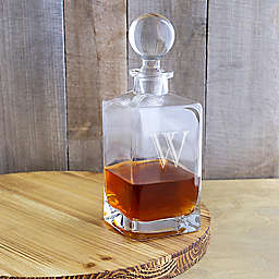 Cathy's Concepts Square Whiskey Decanter