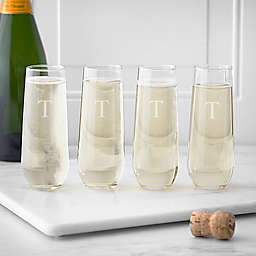 Cathy's Concepts Stemless Champagne Glasses (Set of 4)