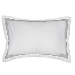 Charisma® Argento Standard/Queen Pillow Sham in White