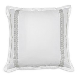 Charisma® Argento European Pillow Sham in White