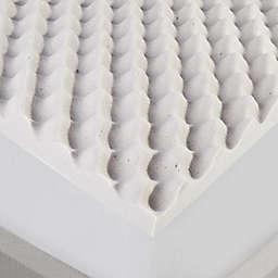 Charcoal Twin XL Memory Foam Topper