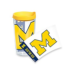Tervis® University of Michigan Wolverines 16-Ounce Wrap Tumbler with Yellow Lid