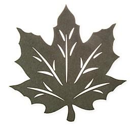 Melange Felt Leaf Placemat and Coaster Collection