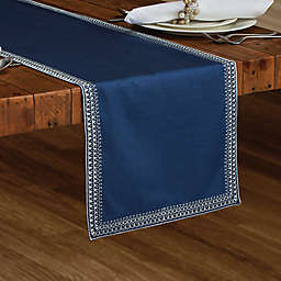 Superion Hanukkah Table Runner in Blue