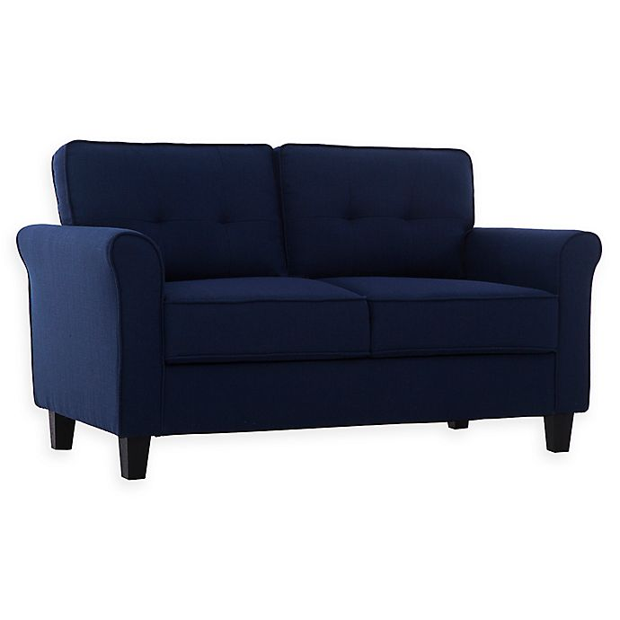 Alternate image 1 for Lifestyle Solutions® Zoro Loveseat in Blue