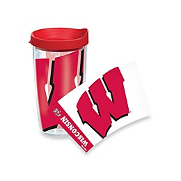 Tervis® University of Wisconsin Badgers 16-Ounce Wrap Tumbler with Red Lid