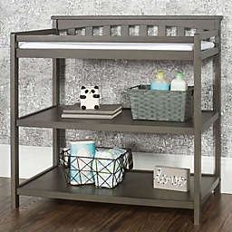 Child Craft™ Forever Eclectic™ Flat Top Changing Table in Dapper Grey