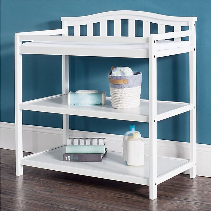 Alternate image 1 for Child Craft™ Forever Eclectic™ Arch Top Changing Table in Matte White