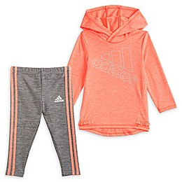 Adidas® 2-Piece Space Dye Hoodie and Tight Set