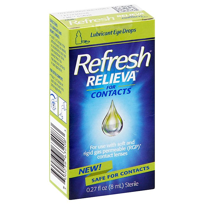 Alternate image 1 for Refresh® Relieva™ 0.27 oz. Lubricant Eye Drops for Contacts