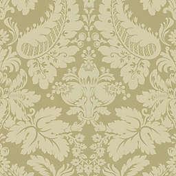Echo Design™ Modern Damask Wallpaper Sample in Light Brown