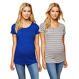 Motherhood Maternity® 2-Pack BumpStart Maternity T-Shirts