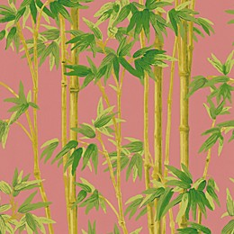Echo Design™ Bamboo Wallpaper Sample in Pink
