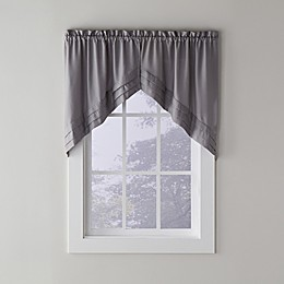 SKL Home Holden Swag Window Valance in Dove Grey