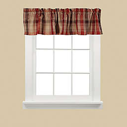 SKL Home Cooper Window Valance in Red