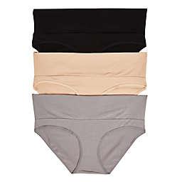 Motherhood Maternity® 3-Pack Fold Over Panties