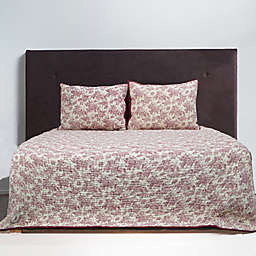 Bee & Willow™ Home Margaret Toile King Quilt in Red