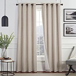 Brookstone® Malone Draftblocker Grommet Room Darkening Window Curtain Panel