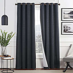 Brookstone® Malone Draftblocker Grommet Room Darkening Window Curtain Panel