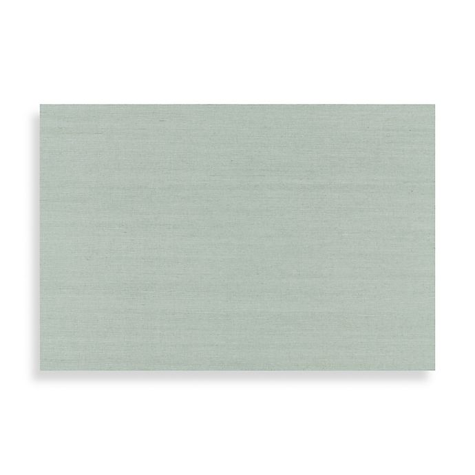 Buy Echo Design™ Grasscloth Wallpaper In Sage From Bed