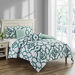 C. Wonder Emerline 5-Piece Full/Queen Comforter Set in Jade