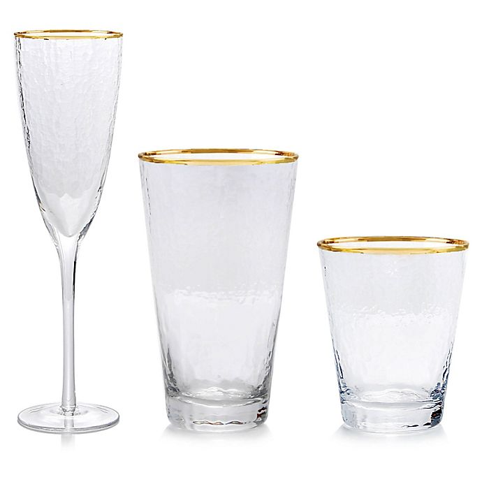 Alternate image 1 for Qualia Glass Mirage Wine & Bar Collection in Gold